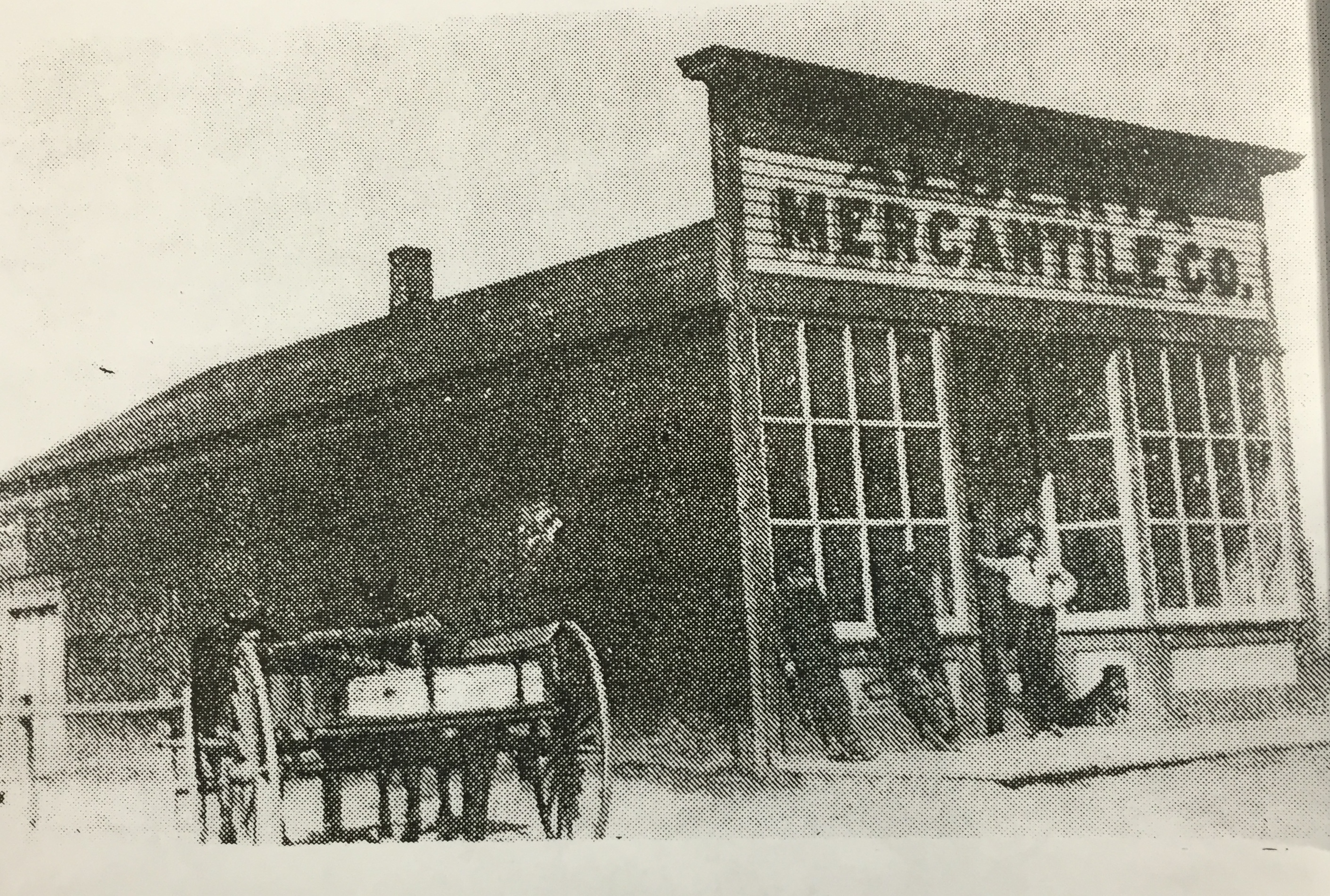 Historic Alberta (Richfield), Idaho Mercantile