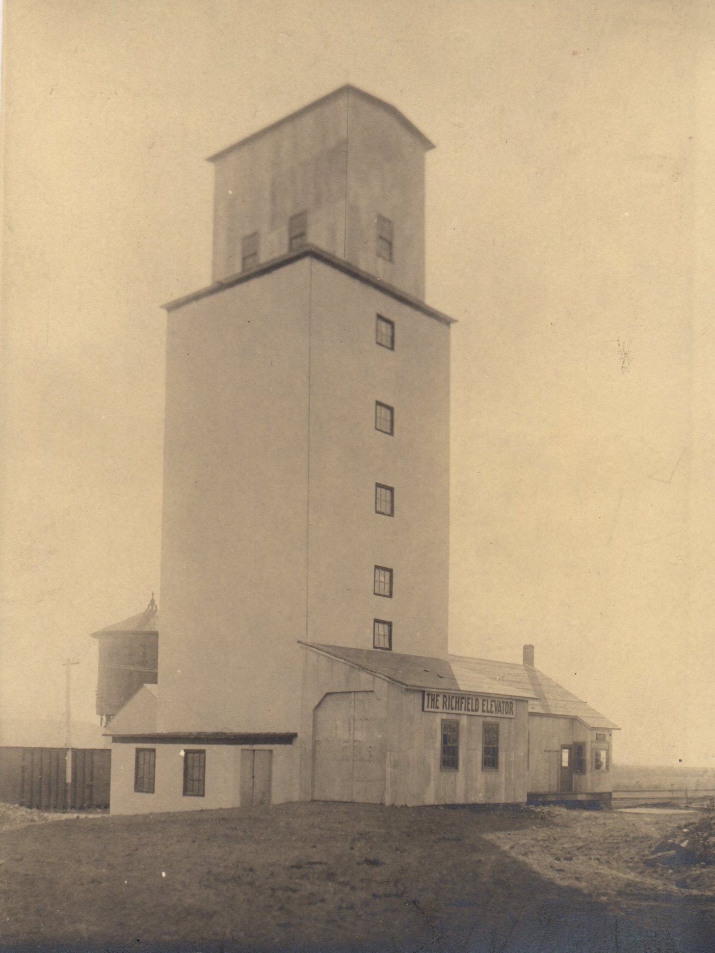 Historic Richfield, Idaho Grain Elevator