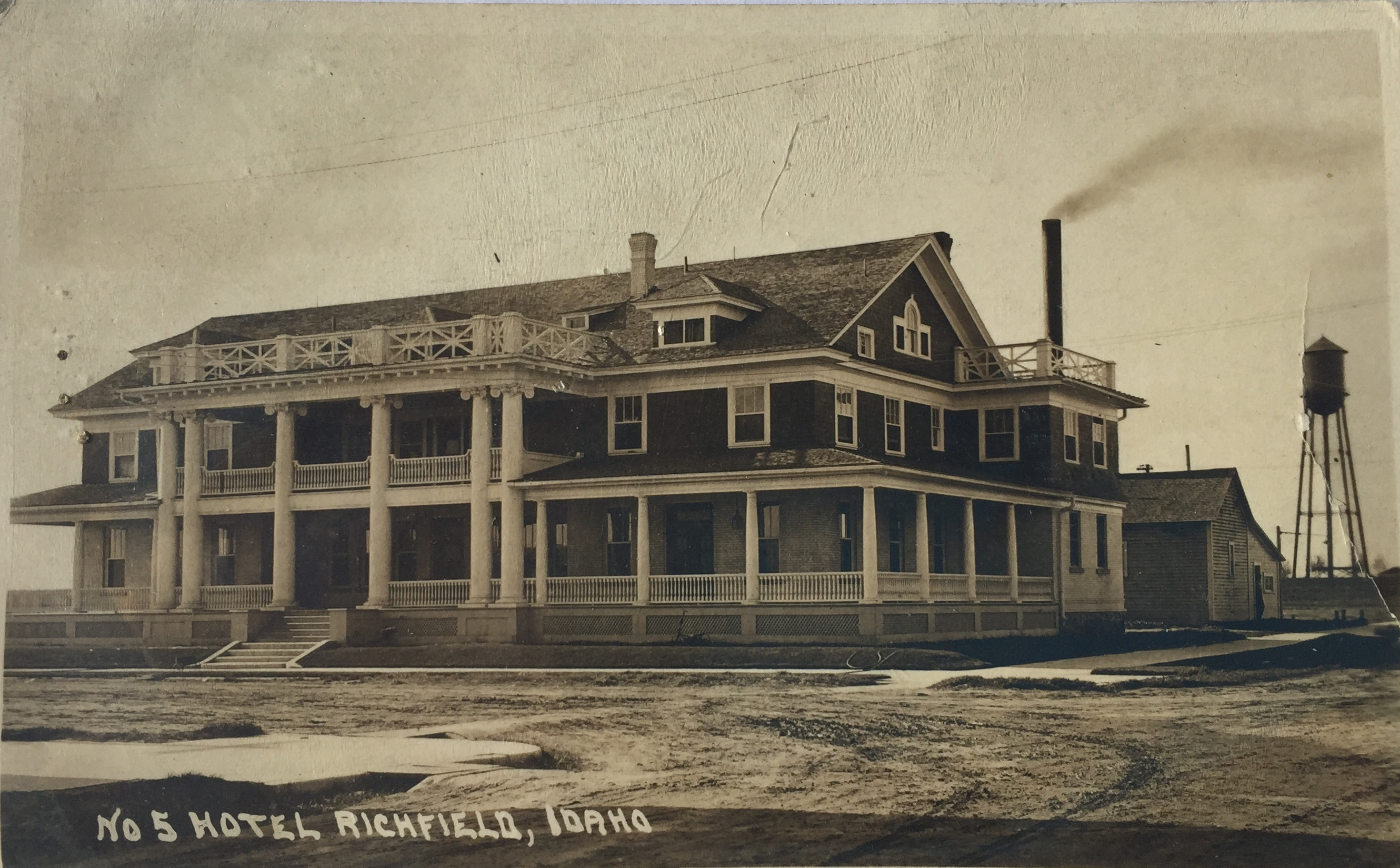 Historic Richfield, Idaho Hotel